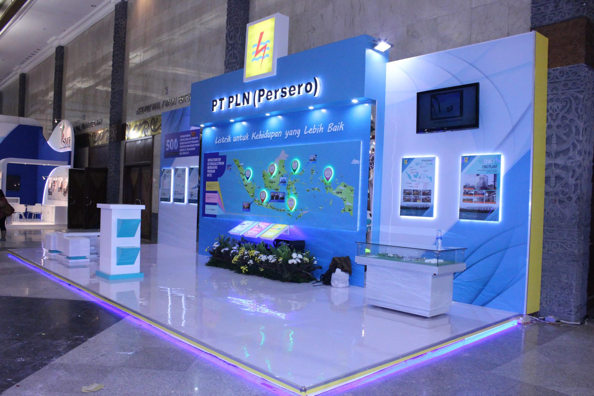 Booth 3 Sisi terbuka