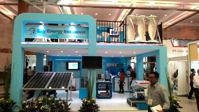 Booth Sky Energi