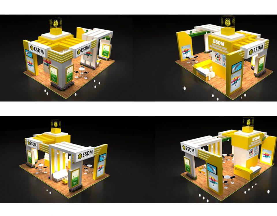 Kontraktor Pameran, Desain Booth