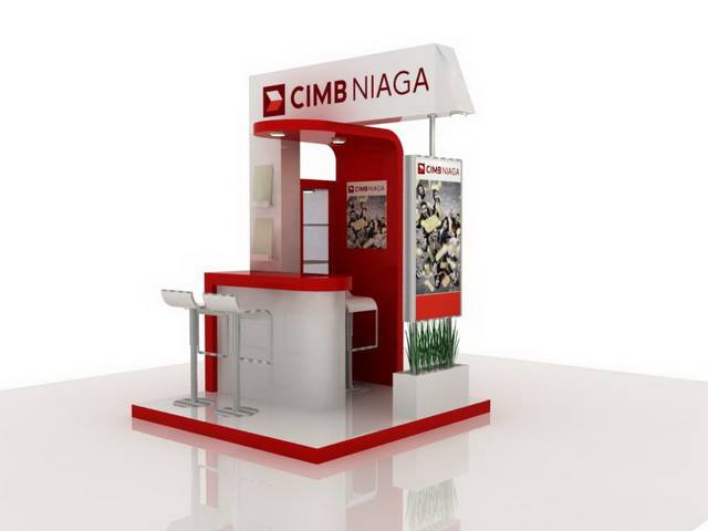 Booth Cimb Niaga