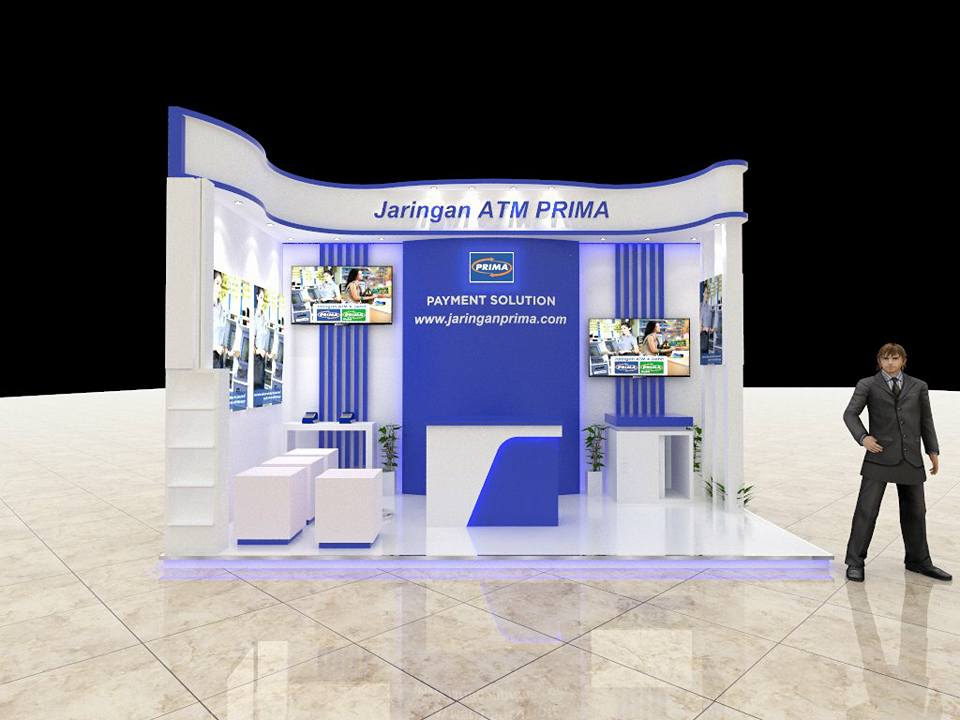 Booth Jaringan ATM Prima