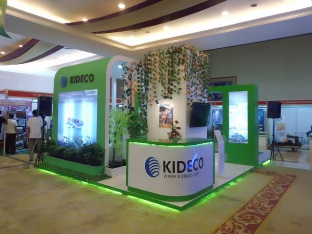 Booth Kideco 6 x 6 meter
