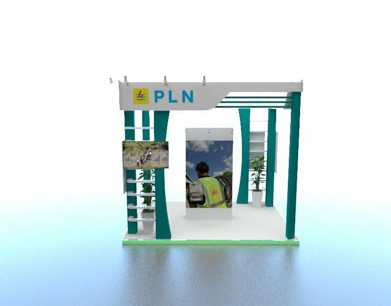 Booth PLN 4 x 4 meter