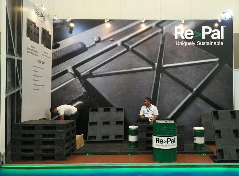 Booth Repal 6 x 3 meter