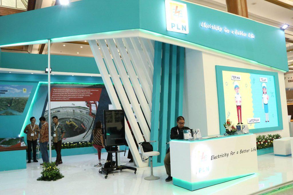 Booth PLN 8 x 12 meter