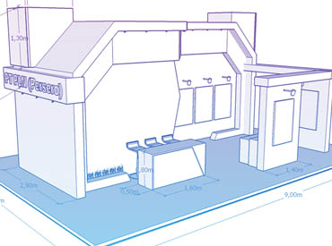 EXHIBITION BOOTH / STAND